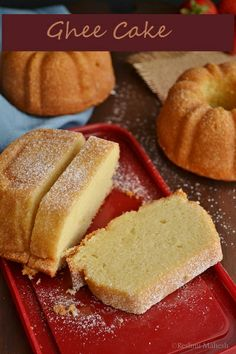 Most of them from South India must have heard about Cochin Bakery. They have a cake known as Ghee cake. As the name suggests Ghee is the mai. Pound Cake Recipes, Easy Cake Recipes, Baking Recipes, Cookie Recipes, Ghee Cake Recipe, Butter Recipe, Dessert Drinks, Paleo Dessert, Dessert Recipes