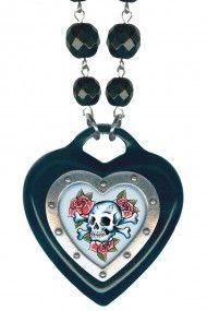 Skull Heart of Hearts Necklace
