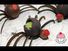 ▶ Halloween Jello Spiders - No Bake Halloween Treats with Cupcake Addiction - YouTube