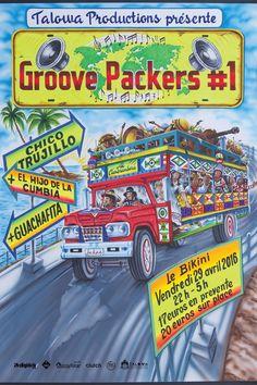 29/04/16 ☛ CHICO TRUJILLO x EL HIJO DE LA CUMBIA x GUACHAFITA @ Le Bikini, Ramonville.