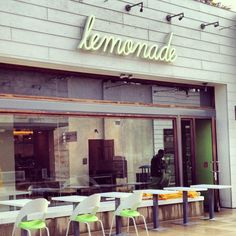Lemonade cafe #storefront