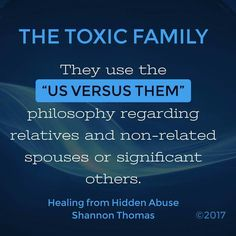 The Toxic Family Healing from Hidden Abuse: A Journey Through the Stages of Recovery from Psychological Abuse is available on Amazon (Paperback and Kindle) Also at Barnes & Noble, Smashwords & iBook