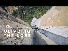 CLIMBING THE NOSE - Jorg Verhoeven's ascent of the most famous route in the world - YouTube