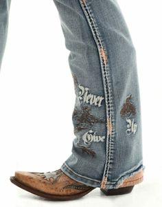 Buckin' UnBELIEVEable Jean by Cowgirl Tuff Co.-Katie's Coast to Coast, Cowgirl Tuff Co., Buckin' Unbelievable jean, cowgirl clothing