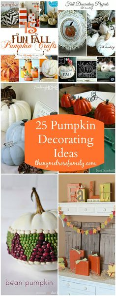 25 Pumpkin Decoratin