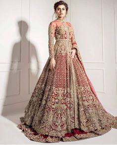 Heritage 2018 - Heritage Line - Bridal Couture Shadi Dresses, Pakistani Formal Dresses, Pakistani Wedding Outfits, Indian Bridal Outfits, Pakistani Wedding Dresses, Pakistani Dress Design, Wedding Lenghas, Pakistani Bridal Couture, Couture Bridal