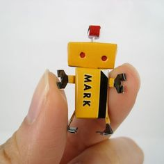 My handmade robot mark