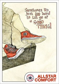 Converse Shoe Campaign Adverts by Darragh Kinch