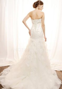 Tulle A line Sweetheart Lace up Sleeveless Floor Length Wedding Gowns