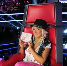 Get the Look - Last night on #TheVoice! #TeamXtina #Lotus