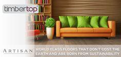 Artisan Hardwood Flooring timbertop range