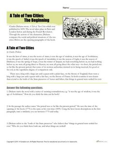 abigail adams persuading her husband abigail adams worksheets  a tale of two cities reading comprehension worksheet