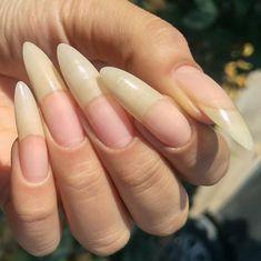 Long Natural Nails, Lei, Goals, Beauty, Natural Nails, Long Nails, Cute Nails, Beauty Illustration