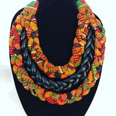This African fashion jewelry is called WINNIE MANDELA , it is made with high quality fabric and can change the look of an outfit in seconds, . Body Necklace, Button Necklace, Fabric Necklace, Fabric Jewelry, Fulani Earrings, Tribal Earrings, African Necklace, African Jewelry, Body Jewelry