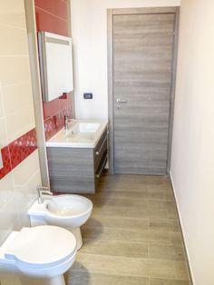 APPARTAMENTO – Via Passo Buole (To) ristrutturazione + arredamento + interior + bagno + rosso| Ciesse Torino