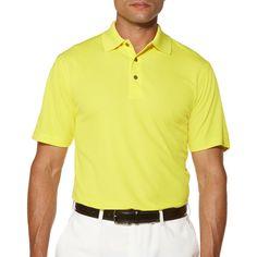 Ben Hogan Short Sleeve Polo #Yellow