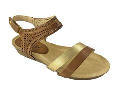 Pikolinos Rennes 931-7474A Womens Leather Strap Sandal