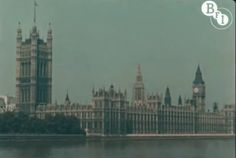 1927 London Shown in Moving Color