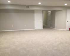 Finished Basement re