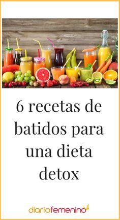 Te enseñamos a hacer paso a paso estos riquísimos batidos de frutas detox. ¡Ñam, ñam! 😋 🍌 🍉🍇  #detox #batidos #recetas #recipes #DiarioFemenino