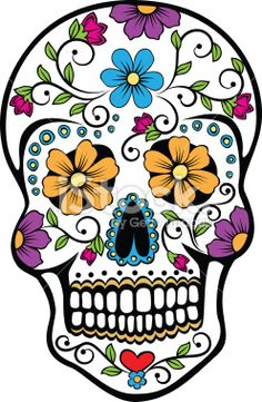Sugar Skull Counted Cross Stitch Chart by PDF This listing is for a scanned copy of the original pattern which is sent as a PDF file Before purchasing please make Sugar Skull Tattoos, Sugar Skull Art, Sugar Skulls, Sugar Skull Painting, Sugar Skull Design, Body Painting, Mexican Skulls, Mexican Art, Day Of The Dead Skull