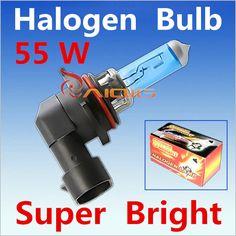2 pz 9006 55 W HB4 55 W Alogena Lampadine super white Fari fendinebbia lampade luce corrente di giorno di parcheggio 6000 K 12 V Testa Car Light Source