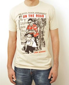 On the Road T-Shirt from outofprintclothing.com - $28 - for Justin
