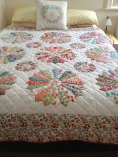 <3Dresden quilt with large & smalls