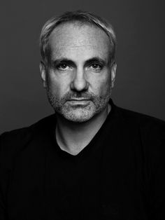 """Kim Bodnia (1965) is a Danish actor, and occasional writer and director. He is best known internationally for his role as """"Martin Rohde"""" in the Scandinavian crime drama television series The Bridge. He also played """"Frank"""" in Pusher and """"Jakov"""" in episode 4 of Those Who Kill. Types Of Guys, Kinds Of People, Black White Photos, Black And White, Portrait Lighting, British Actors, Old Hollywood, Detective, Movie Stars"""