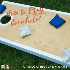 How to Play Cornhole Outdoor Games To Play, Games To Play Outside, Cool Games To Play, Lawn Games, Corn Hole Game, Cornhole, Don't Forget, Sumo, Finding Yourself
