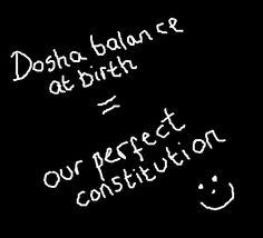 In #Ayurveda, striving for the balance of #doshas we have at birth is the key to good health and wellbeing.  www.ayurveda-retreat.co.uk