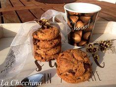 La Chicchina: Cookies al cioccolato #cioccolato #biscotti #cooking  #food #colazione