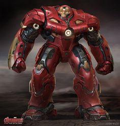 「アベンジャーズ/エイジ・オブ・ウルトロン」に登場したアイアンマン・マーク44、ハルクバスターのコンセプトアートが多数公開。 デザインの試行錯誤が見て取れる。