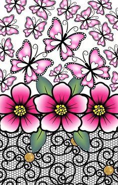 Estampas florais