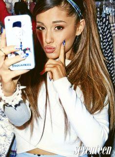 Ariana Grande – Seventeen Magazine (September 2014)