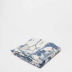 PRINTED WOOL BLANKET - Blankets - Bedroom | Zara Home United Kingdom