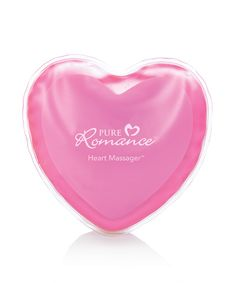 The portable heat pack stays hot for up to one hour — great for massaging your partner, massaging yourself, or even warming hands during chilly nights. Use two Heart Massager heat packs with Burning Desire to give you the sensation of a hot stone massage! Reheats easily for use again and again! Www.marissaruland.pureromance.com