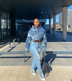 Black Girl Fashion, Tomboy Fashion, Dope Fashion, Streetwear Fashion, 90s Fashion, Fashion Outfits, Fashion Styles, Cute Outfits With Jeans, Cute Swag Outfits