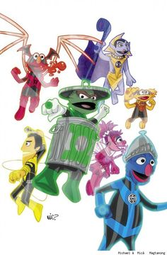 Muppet Lanterns - Michael Magtanong