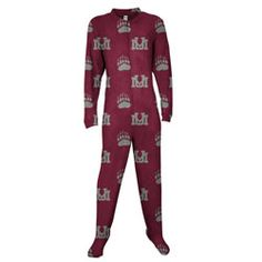 This makes me laugh.  Could make for some interesting Christmas photos though :-)  Montana Grizzlies Burgundy Scoreboard Adult 'Mansie' Pajama Suit $49.99 http://www.fansedge.com/Montana-Grizzlies-Burgundy-Scoreboard-Adult-Mansie-Pajama-Suit-_825591885_PD.html?social=pinterest_pfid21-06843