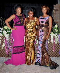 Omotola Jalade Wears Butterfly Gown At New Iconic Invanity Store #3