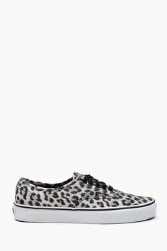 Authentic Sneaker - Snow Leopard