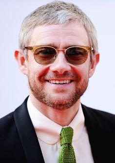 Martin Freeman attends the Arqiva British Academy Television Awards 2014.  Looking yummy!
