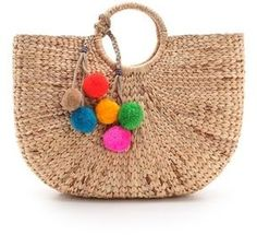 Tote it! With a pom pom.