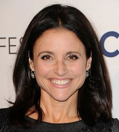 Julia Louis Dreyfus shows us a laugh can be the best way to look younger! That and a great collarbone-framing haircut: http://www.bhg.com/beauty-fashion/hair/hairstyles-for-women-over-50/?socsrc=bhgpin070414&page=3