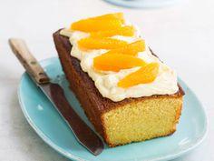 Enkel appelsinkake med ostekremglasur | Oppskrift | Meny.no Cheesecake, Pudding, Desserts, Food, Tailgate Desserts, Deserts, Cheesecakes, Custard Pudding, Essen