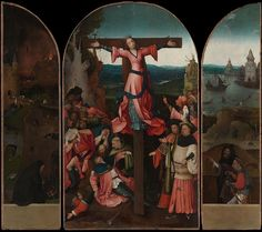 Palazzo Ducale   Bosch The Crucifixion of St Julia.