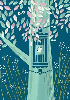 """""""Yöpuu"""" poster design by Sami Vähä-Aho 2012."""