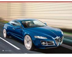 Alfa Romeo Giulia Concept render