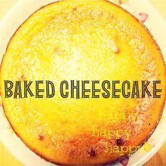 ベイクドチーズケーキ\( ˆ ˆ )/♡ - 17件のもぐもぐ - チーズケーキ by comuco